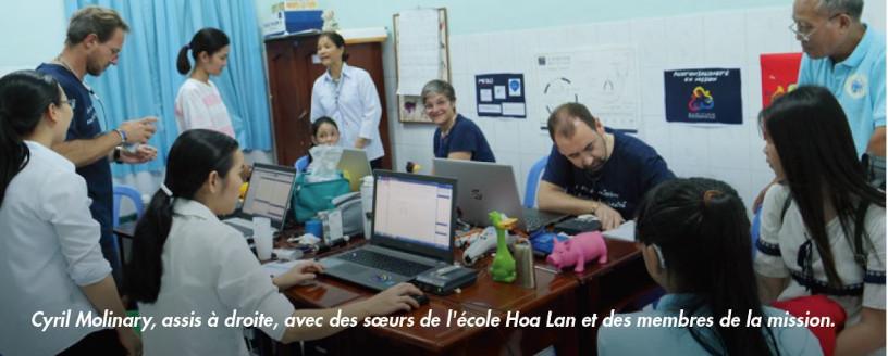 Cyril Molinary, spécialiste AUDITION CONSEIL participant à la 4ème mission humanitaire AuditionSolidarité au Vietnam