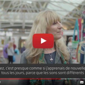 """Vidéo """"Témoignage de Louise – utilisatrice d'aides auditives Oticon Opn"""" de la marque OTICON"""