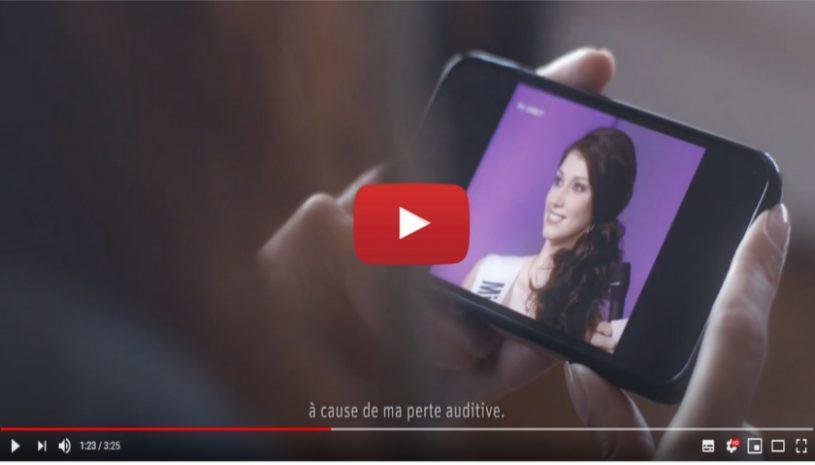 """Vidéo """"Une vie sans limitations l'histoire de Sophie Vouzelaud"""" de la marque PHONAK"""