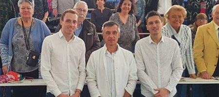 Yannick Dumouchel au forum de la santé à Marseille