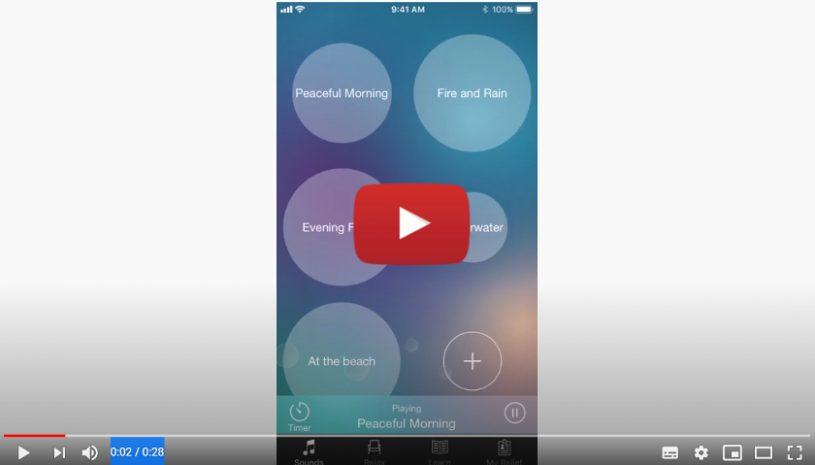 """Vidéo """"Application ReSound Relief"""" de la marque ReSound"""