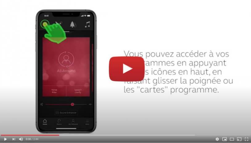 """Vidéo """"ReSound Smart 3D - Fonctionnement"""" de la marque RESOUND"""