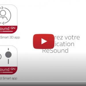 """Vidéo """"ReSound Smart 3D - Comment régler les aigus, médiums et graves."""" de la marque OTICON"""
