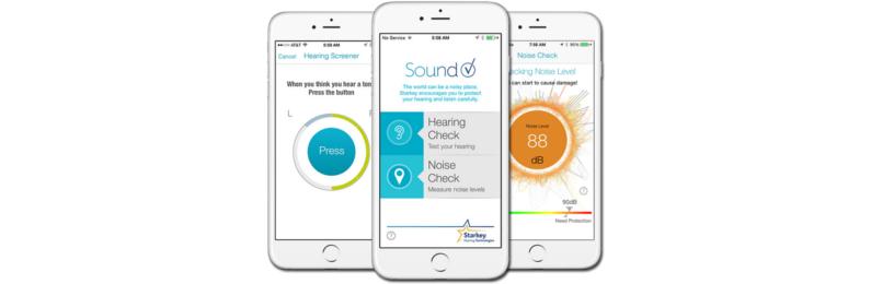 Applications auditives STARKEY Soundcheck
