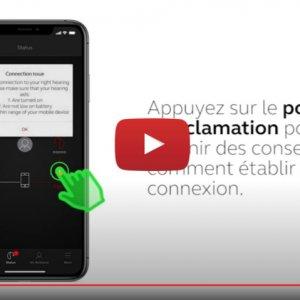 """Vidéo """"ReSound Smart 3D - Comment vérifier la connexion sans fil"""" de la marque RESOUND"""
