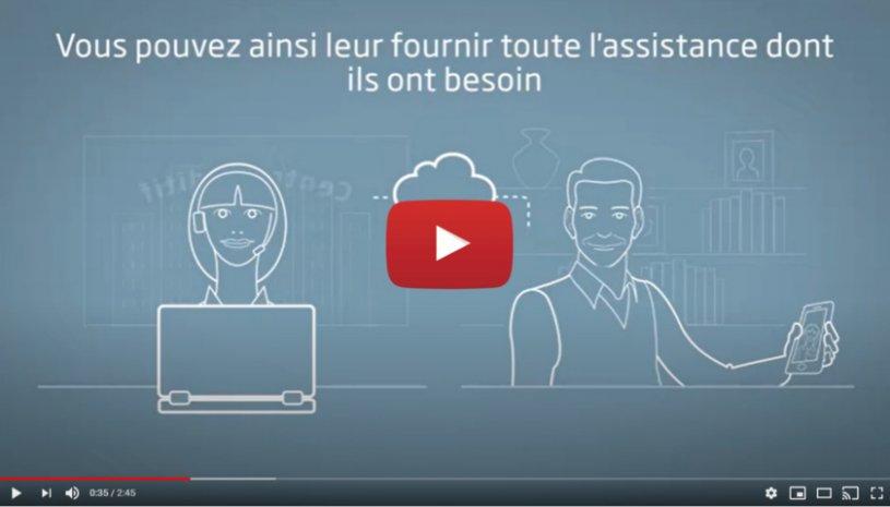 """Vidéo """"RemoteCare - La e-santé par Oticon"""" de la marque OTICON"""