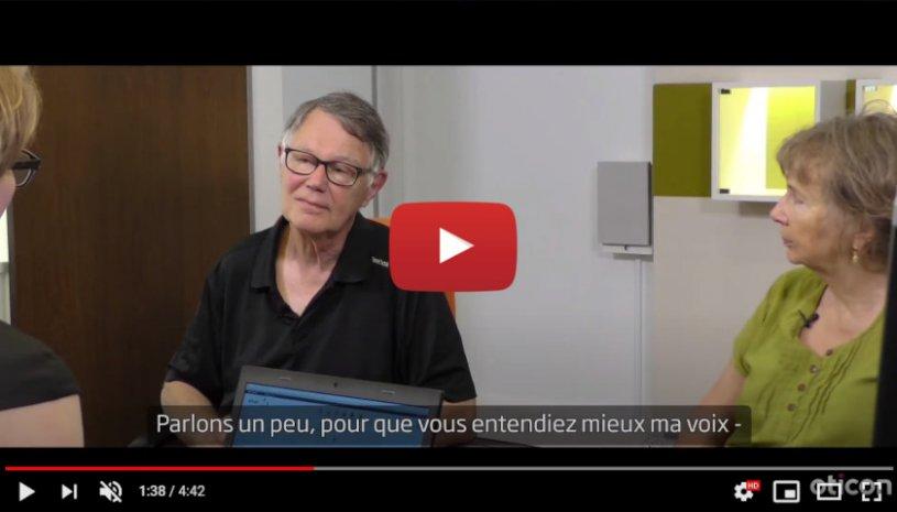 "Vidéo ""Témoignage de Hans – il a testé Oticon Xceed SP"" de la marque OTICON"