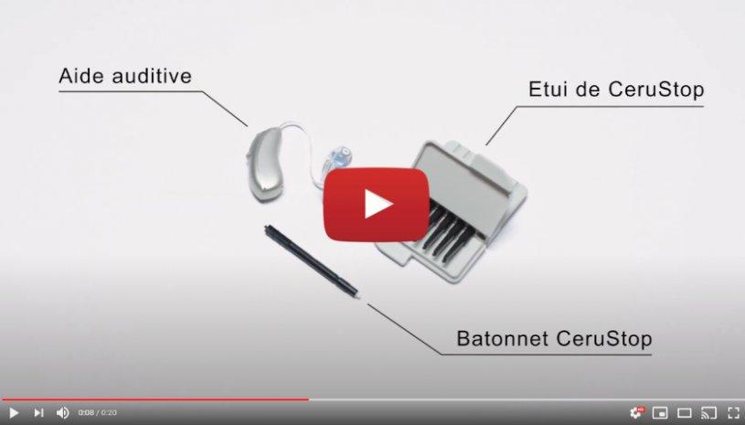 """Vidéo """"Comment changer le CeruStop sur un embout sur-mesure ?"""" de la marque PHONAK"""