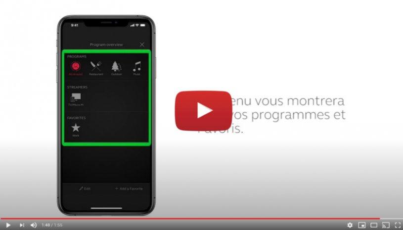 """Vidéo """"ReSound Smart 3D - Comment changer de programme"""" de la marque RESOUND"""