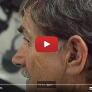 """Vidéo """"Découvrez le témoignage de Steeve - utilisateur d'aides auditives Oticon Opn S"""" de la marque OTICON"""