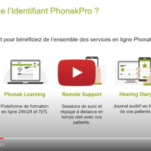 """Vidéo """"Qu'est ce que l'identifiant PhonakPro et comment le retrouver ?"""" de la marque PHONAK"""
