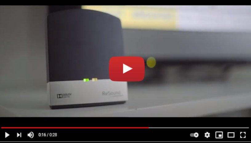 """Vidéo """"ReSound TV Streamer 2"""" de la marque RESOUND"""