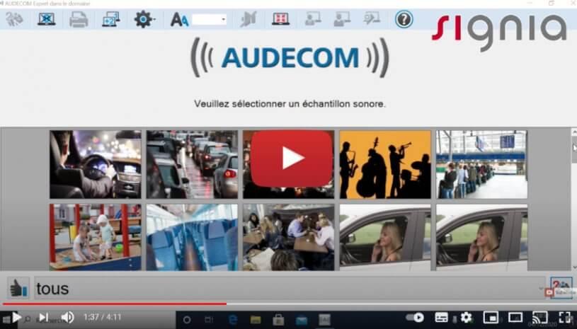 "Vidéo ""AUDECOM, comparer & convaincre   Signia Appareils Auditifse"" de la marque SIGNIA"