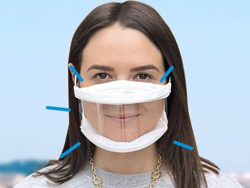 Les masques inclusifs utiles pour une meilleure compréhension