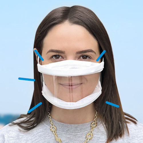 Les masques inclusifs permettent un meilleur apprentissage chez les jeunes