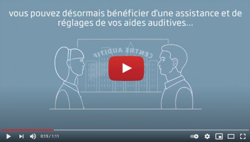 """Vidéo """"Oticon RemoteCare – Votre visite de suivi dans la paume de votre main"""" de la marque OTICON"""