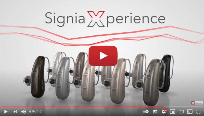 "Vidéo ""Xperience : Pure Charge&Go X | Aides Auditives Signia"" de la marque SIGNIA"