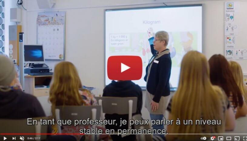 """Vidéo """"L'utilisation de Roger™ SoundField dans les salles de classe"""" de la marque PHONAK"""