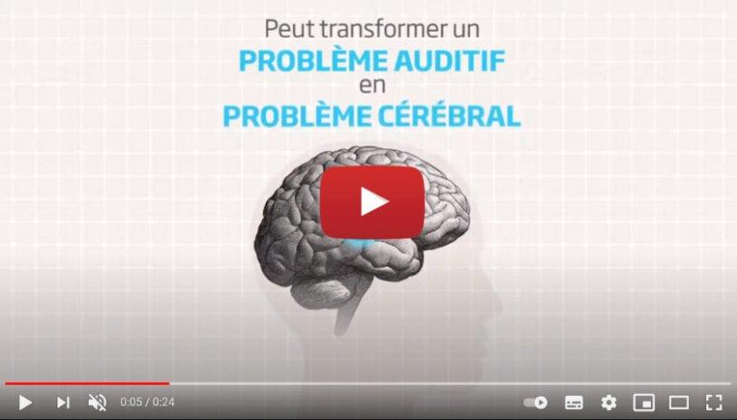 """Vidéo """"Que se passe-t-il si votre cerveau ne reçoit pas assez de son ?"""" de la marque OTICON"""