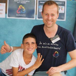 Yannick Durand, audioprothésiste AUDITION CONSEIL en mission solidaire en République Dominicaine