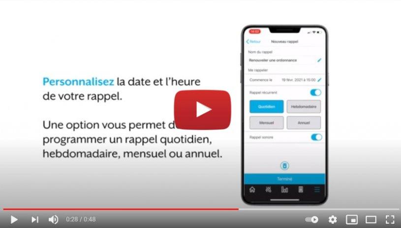 "Vidéo ""Starkey France - Appli Thrive - Rappels"" de la marque STARKEY"