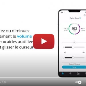 "Vidéo ""Starkey France - Appli Thrive - Muet"" de la marque STARKEY"